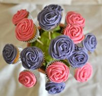 How to make a cupcake flower pot - Claire K Creations