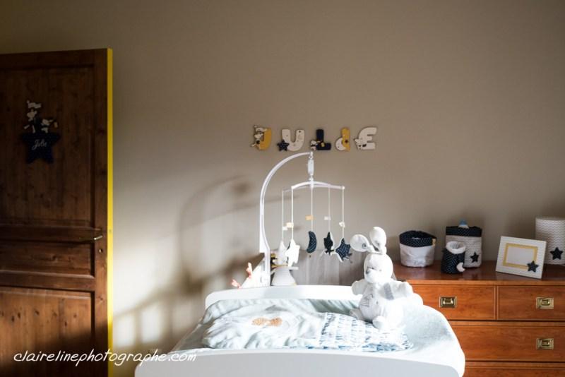 décoration chambre de bébé fille