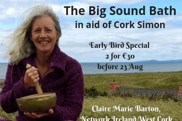 The Big Sound Bath for Cork Simon Community