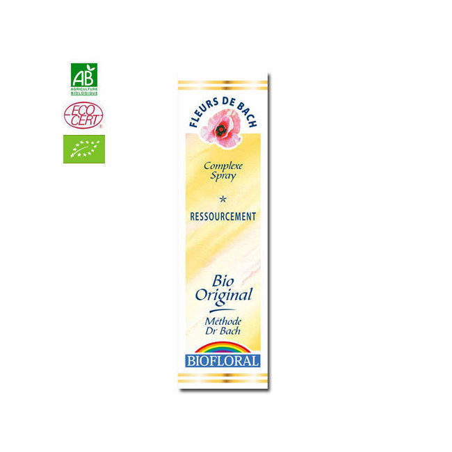 Ressourcement - Complexe n°10 Fleurs de Bach bio Spray 20ml