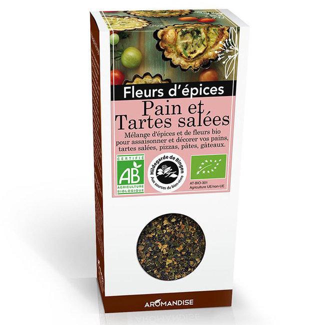 Fleurs d'épices bio Pains et Tartes salées pour la cuisine 40g