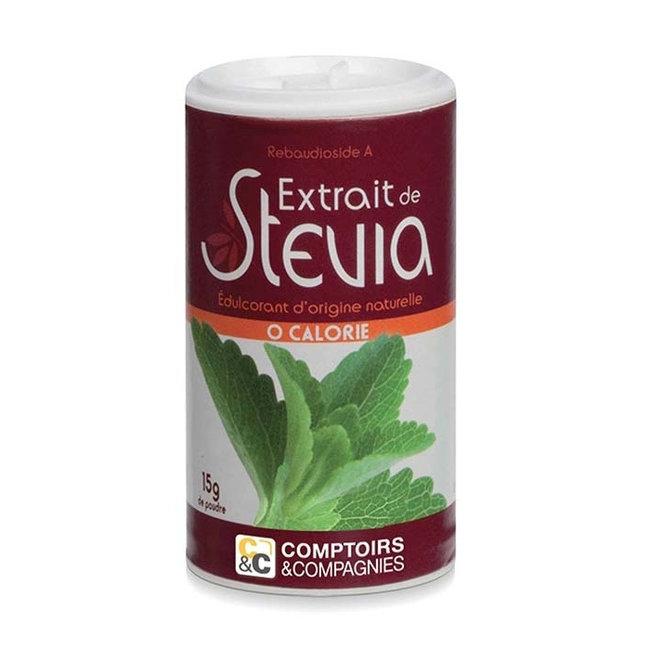 Stévia en poudre - Boîte de 15g