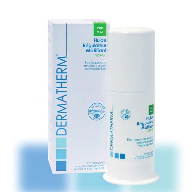 PurMat Fluide régulateur matifiant bio Visage 50ml