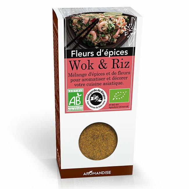 Fleurs d'épices bio Wok et riz 48g