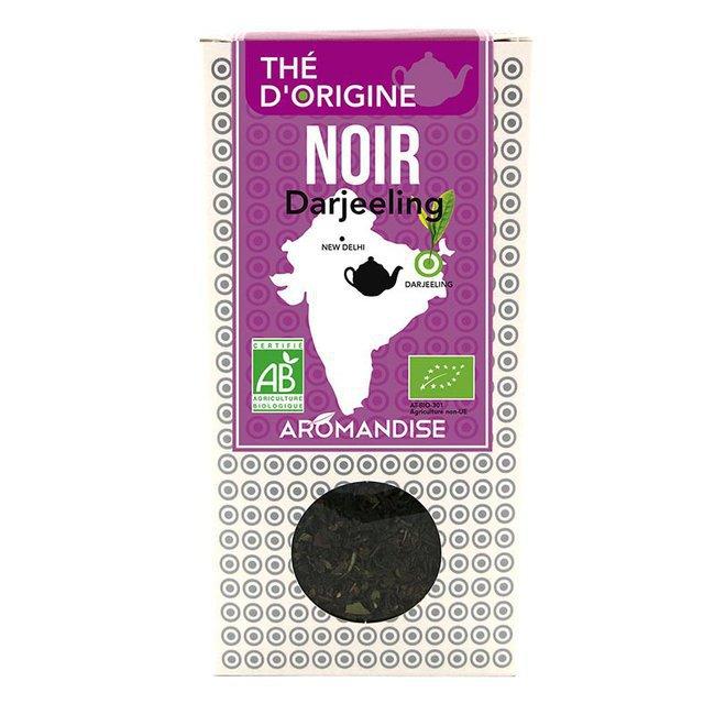 Thé noir Darjeeling bio - Boîte de 80g