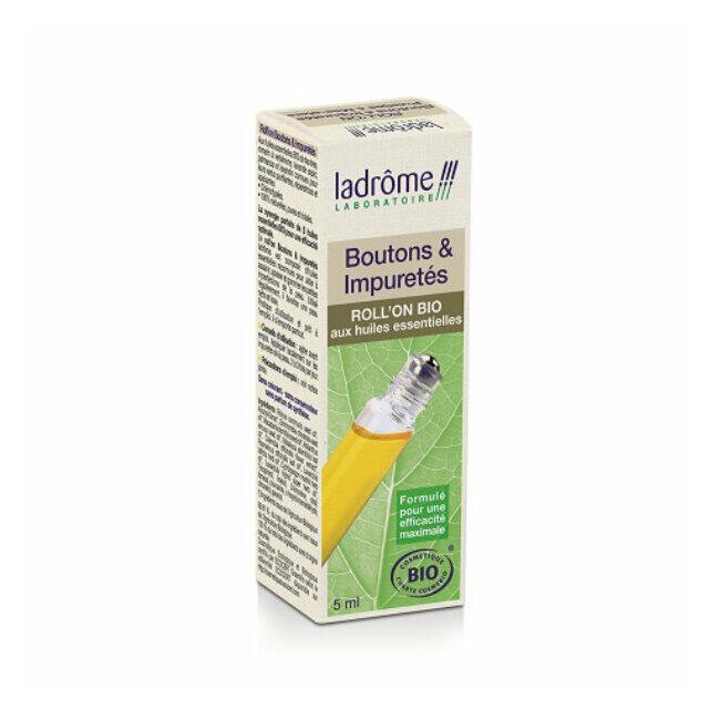 Roll-on bio Boutons et Impuretés aux huiles essentielles 5ml