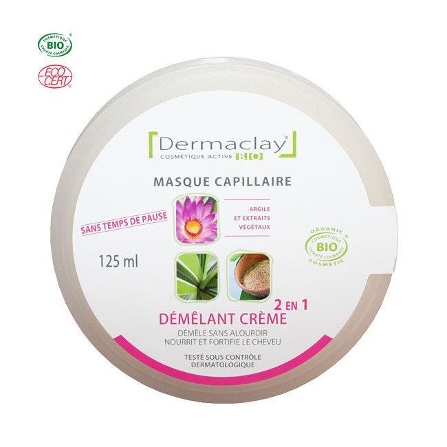 Masque démêlant crème 2 en 1 bio 125ml