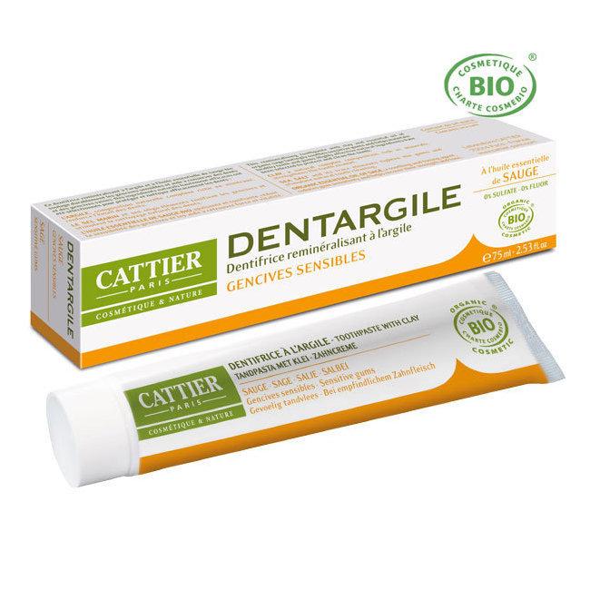 Dentargile Sauge - Dentifrice bio gencives sensibles 75ml