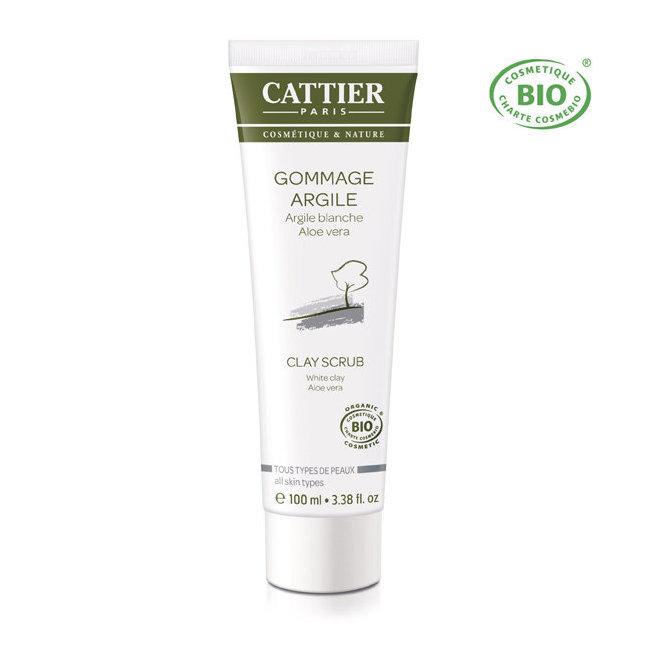 Gommage Argile blanche bio - Tous types de peaux 100ml