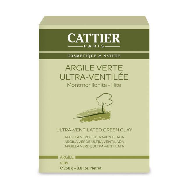 Argile verte ultra ventile Cattier  Montmorillonite