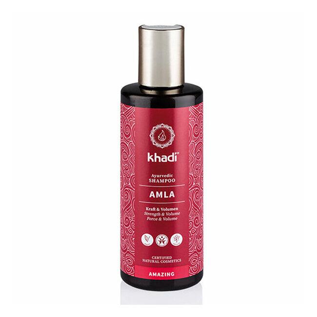 Shampoing ayurvédique Amla - Cheveux ternes et fins 210ml