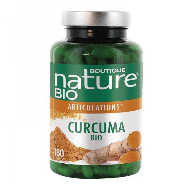 Curcuma bio Articulations - Format éco 180 gélules