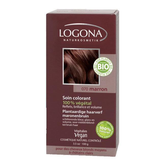 Marron - Soin colorant végétal - Reflets pour cheveux blonds et châtains 100g