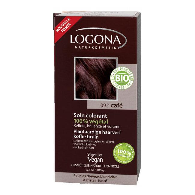 Café - Soin colorant végétal - Reflets pour cheveux blonds à châtains 100g