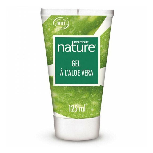 Gel à l'Aloe vera bio Visage et corps - Tube 125ml