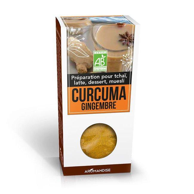Curcuma Latte Gingembre bio 60g