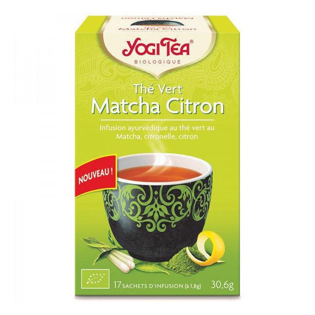 Yogi Tea Matcha Citron bio 17 sachets