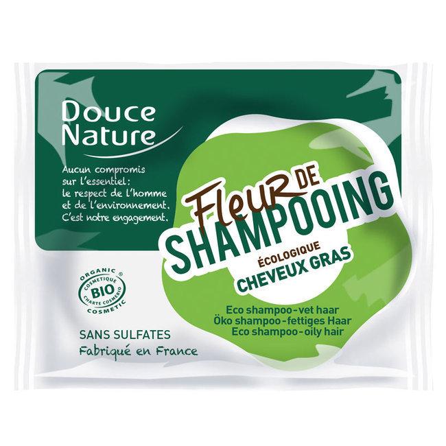 Fleur de shampoing Cheveux gras - Shampoing solide bio 85g
