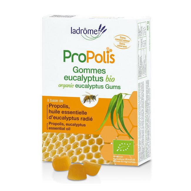 Gommes Bio à la Propolis et l'Eucalyptus 45g