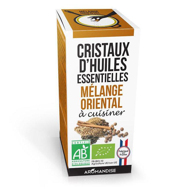 Cristaux d'huiles essentielles Mélange Oriental bio 20g