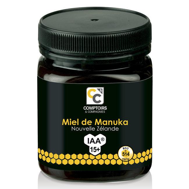 Miel de Manuka UMF 15+ Pot de 250g