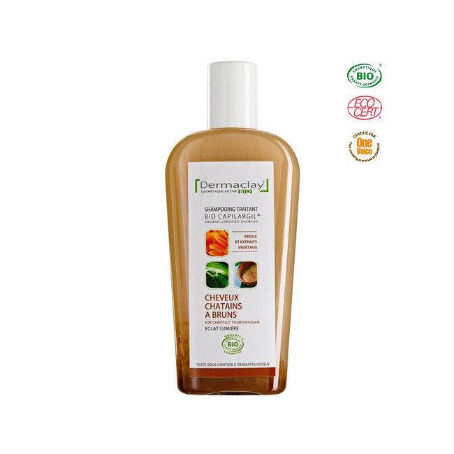 Shampoing Eclat lumière pour Cheveux Bruns Bio Capilargil 250ml