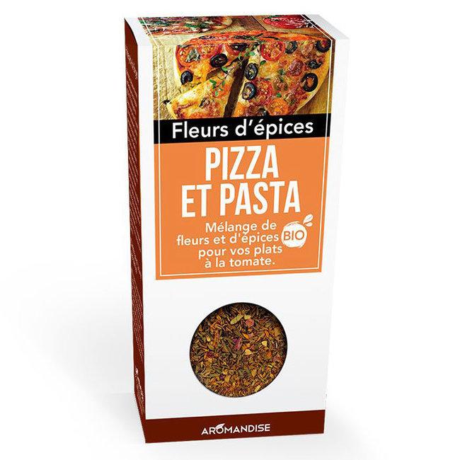 Fleurs d'épices bio Pizza et Pasta pour la cuisine 25g