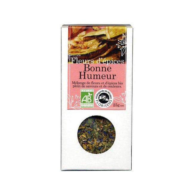 Fleurs d'épices bio Bonne Humeur pour la cuisine 25g