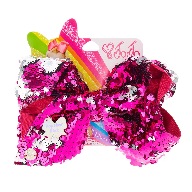 jojo siwa large popstar pink hair