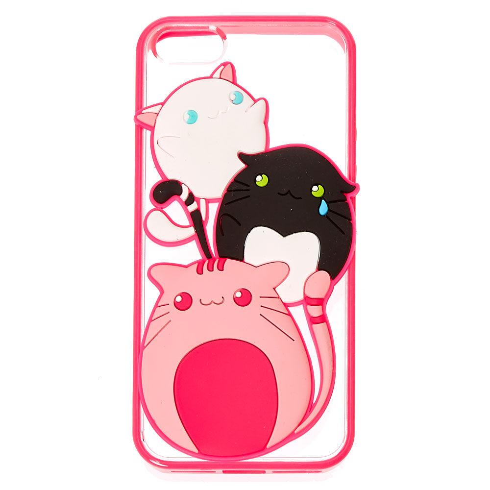 anime cat phone case