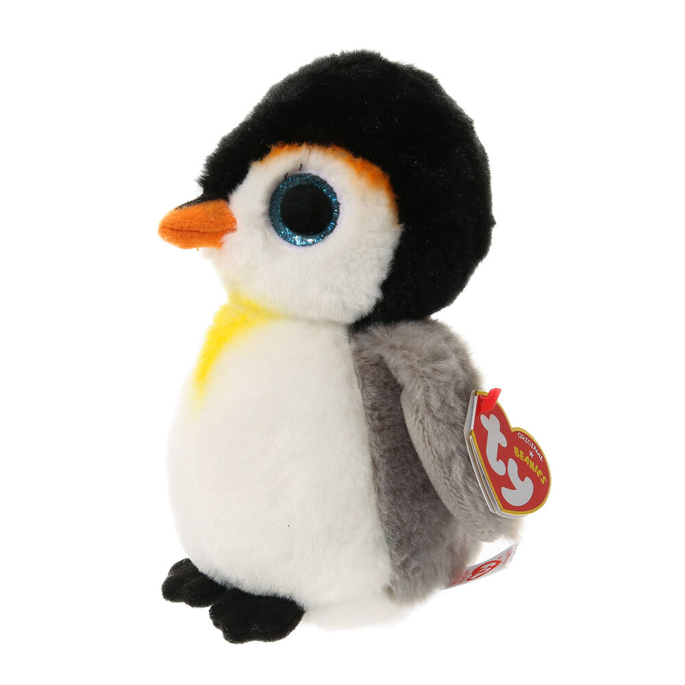 Ty Beanie Baby Small Pongo Penguin Plush Toy Claire'
