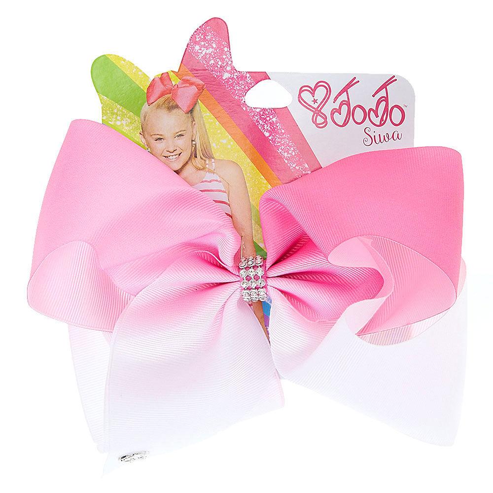 jojo siwa large white & pink ombre