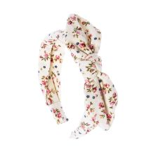 Image result for claire's headband with bow floral print