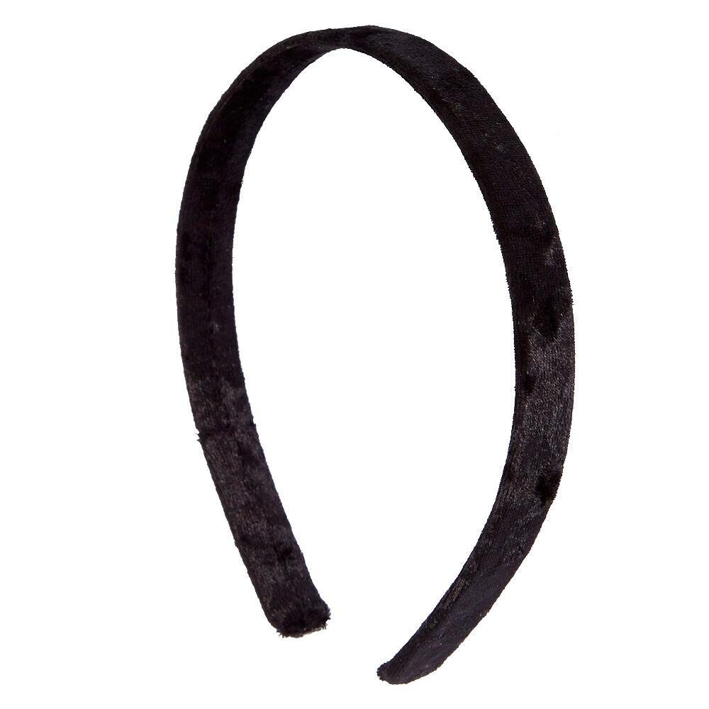 Black Velvet Headband Claires US