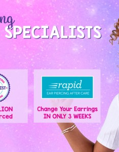 The world   leading ear piercing specialists also claire free everyday with purchase of  starter kit rh claires