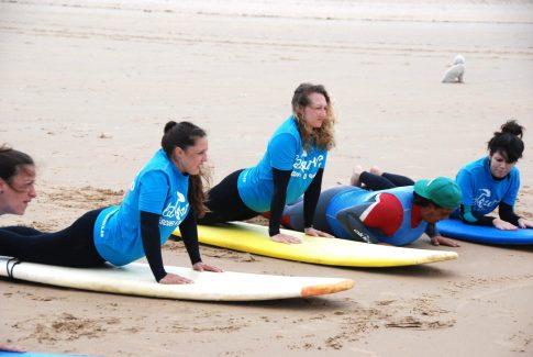 Learning to Surf at Escuela de Surf La Curva in Spain