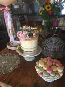 A small wedding in an intimate venue