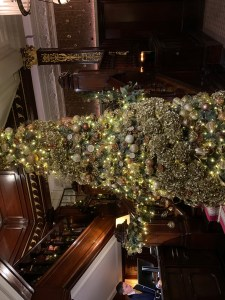 The Connaught Christmas tree