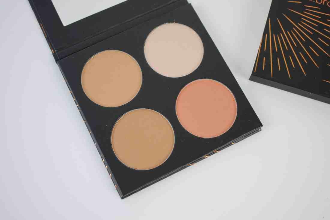 studio makeup on the go bronzing palette