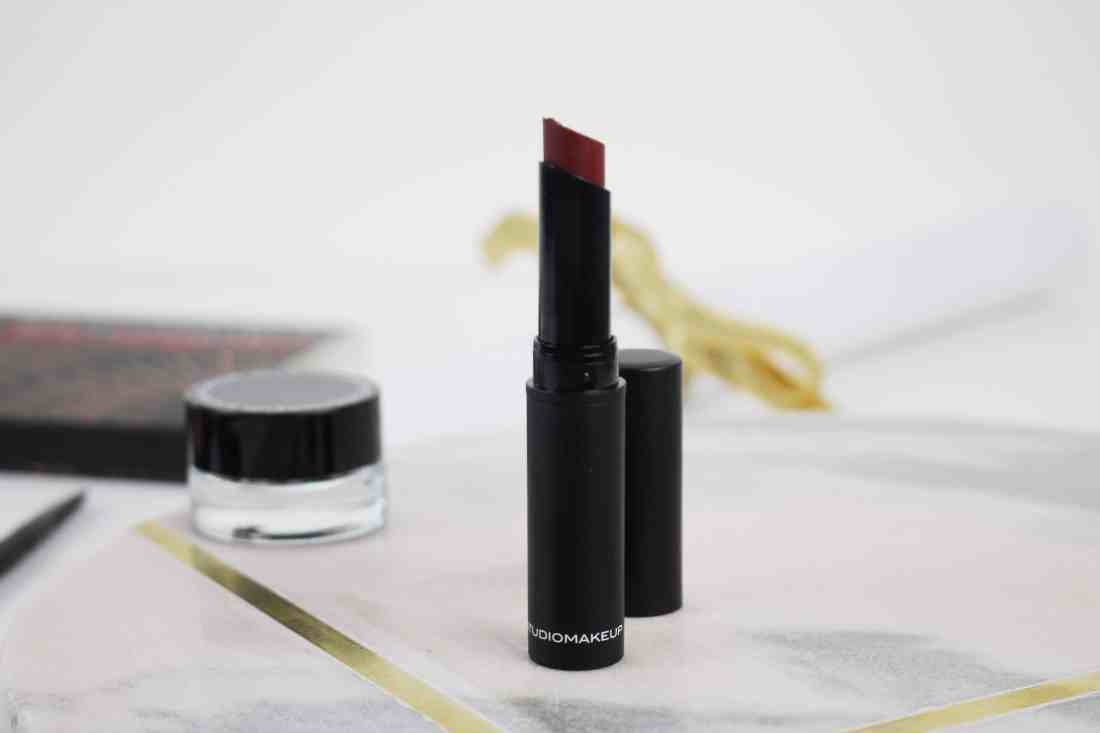 studio makeup velour lipstick classic berry