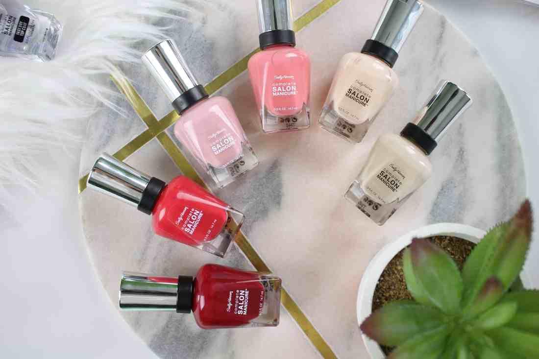 Sally Hansen New Complete Salon Manicure colors