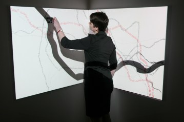 Performance at Castlefield Gallery on 13 February 2014