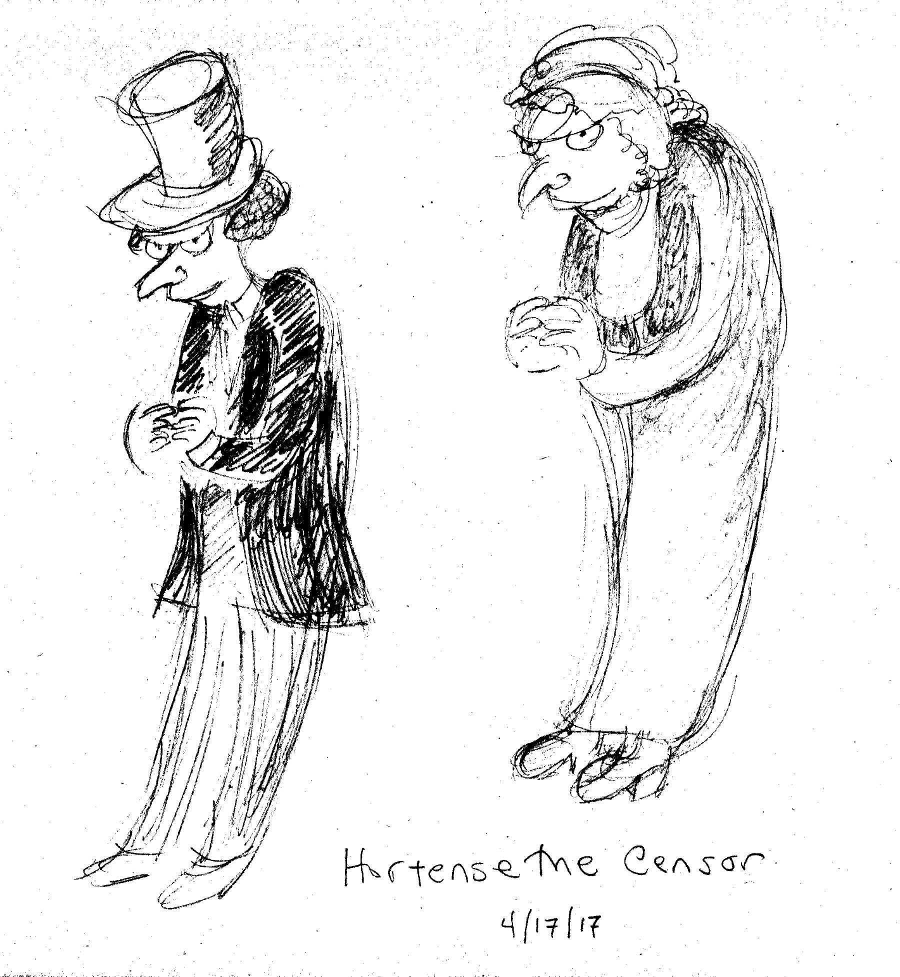 Hortense the Censor
