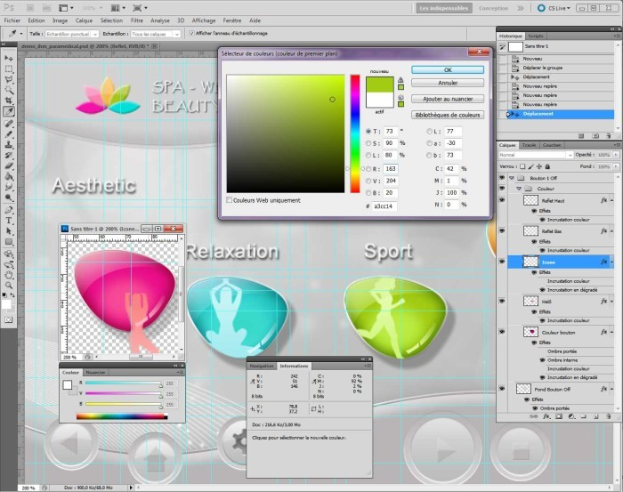 All-in-one solution Products Adaptations & Services Media Shop News Contact Customized HMI graphics - IHM personnalisés