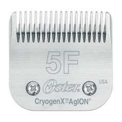 Testine Oster in acciaio 5F-6,3mm