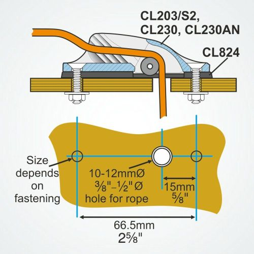 small resolution of cl824 riser pad for cl203 s2 and cl230