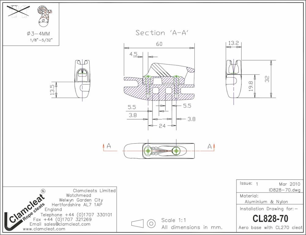 medium resolution of cl828 70 aero cleat with cl270 racing micros with becket