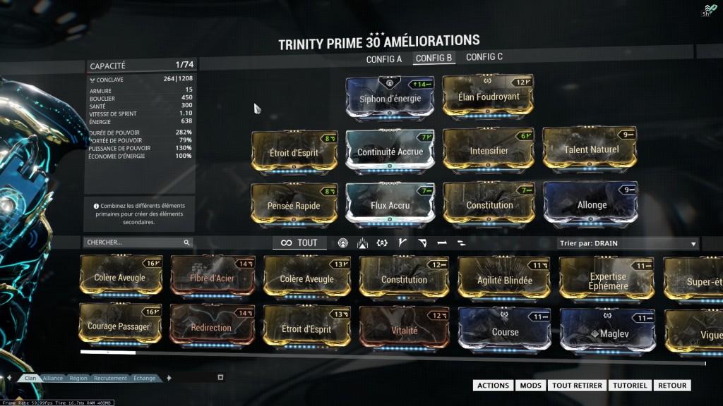 Build Pour Trinity Prime U176 L Zass