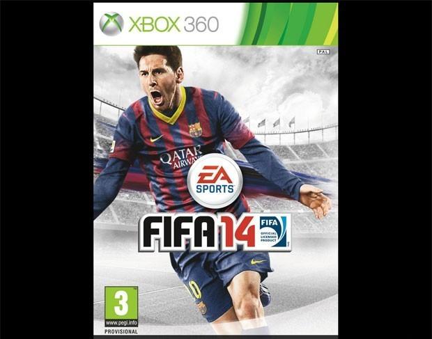 Capa global de 'Fifa 14' que foi divulgada pela Electronic Arts