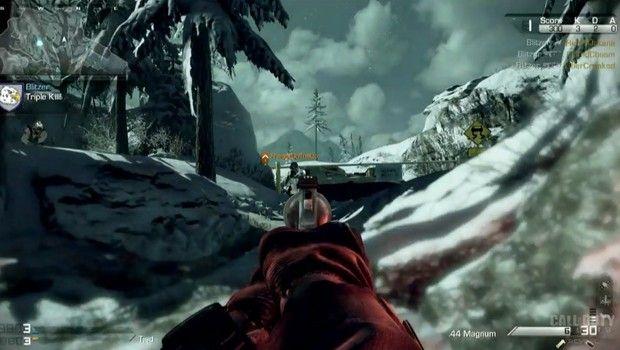Cena do modo multiplayer de 'Call of Duty: Ghosts'